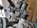 Unser neuer Prototyp eines Doppelteleskops (Bino) mit zwei Newton. Ein Doppelnewton.