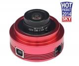 ZWO ASI120MM USB2.0-SW-Kamera - abnehmbares Objektiv