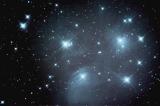 Plejaden M42 mit Skywatcher Newton 200/1000, Montierung: AZ-EQ6, Kamera: Leica T