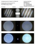 Qualitätsnachweis mit Sterntest und Ronchi für einen TLAPO804 TS Photoline 80/480mm F/6 APO - FPL-53 Triplet.