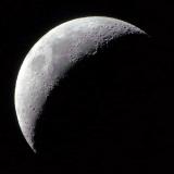 Mond mit SkyWatcher Explorer-150PDS Newton Teleskop