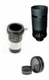 Visual accessory set: Zoom eyepiece + Barlow + variable moon filter