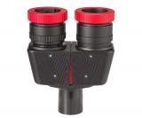 TS-Optics parfocal 1.25 Binoansatz 1: 1 magnification with complete Glaswegausgleich