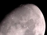 Mond-Aufnahme mit SkyWatcher EvoStar ED80, HEQ5 und ASI120MC