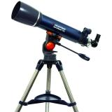 Celestron Teleskop AstroMaster 102AZ 102mm Refraktor mit AZ-Stativ (Montierung)  ppp