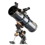 Celestron Teleskop AstroMaster 130EQ Newton auf Montierung