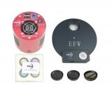 ZWO Kit ASI1600MM Pro 8pos Filterrad 1,25 L-RGB und 3x Nebelfilter (H-alpha, S-II und O-III)