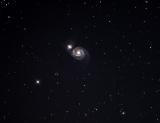 M51 mit SkyWatcher Explorer 150PDS und Atik Horizon