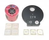 ZWO Kit ASI1600MM Pro 7pos filter wheel 36mm L-RGB and 3x fog filter