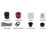 ASI178MMC Gekühlte SW CMOS Kamera Chip D=8,92 mm Schwarz-Weiß Kamera ppp