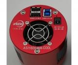 ZWO schwarz - weiß -CMOS-Kamera ASI 1600MM-Cool - Version ZWEI - Chip D=21,9 mm     ppp