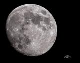 Mond mit SkyWatcher Explorer-200PDS Newton und DSLR