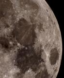 Mond mit SkyWatcher Evostar 80ED und 3x Barlow