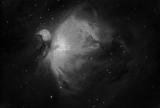 Mond und M42 mit Skywatcher AZ-EQ5 GT und TS Photoline 80/480 Triplet-Apo