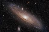 M31 Andromeda und kurze Erfahrung mit Lacerta MFOC mit Skywatcher EQ6-R Montierung, ein SkywatcherESPRIT 100 APO und Canon 700Da