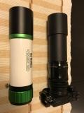 Astrofotografie mit Gudingscope / Sucher und Flattener mir DSLR