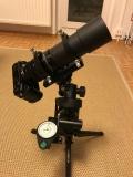 Astrofotografie mit Gudingscope / Sucher und Flattener mir DSLR Teil 2