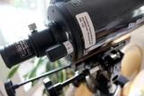 Skala für die Fokussierung eines Maksutov Teleskop