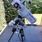 Bresser Messier 6 Newton auf der SkyWatcher EQM-35 Pro SynScan Montierung