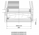 APM MS Fernglas 20x80 a/n