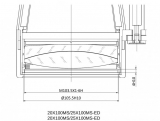APM MS 25x100 Magnesium ED APO Fernglas mit Nitrogen Füllung a/n