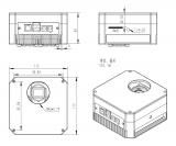 ZWO SW Astrokamera ASI183GT gekühlt mit integriertem 5pos Filterrad   ppp