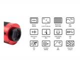 ZWO Farb Astro Kamera ASI 533MC-PRO gekühlt, Chip D= 16 mm  ppp
