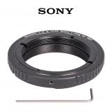 Baader Wide-T-Ring Sony E/NEX Bajonet mit D52i/M48 auf T-2 und S52 Kamera-Adapter