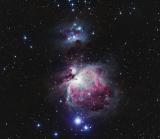 Eine Orion Nebel Aufnahme von unserem Sternenfreund Pete Williamson aus England