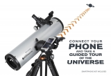 Celestron hat das manuelle Teleskop mit dem StarSense Explorer neu erfunden