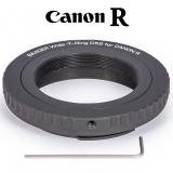 Wide-T-Ring Canon R (für Canon R Bajonett) mit D52i auf T-2 und S52 EOS R und RP Kamera Adapter