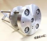 Lacerta Betonsäulenadapter für Skywatcher EQ-6 - EQ-8 Klasse Montierung