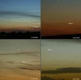 Planeten im Juni 2020:Jupiter und Saturn dominieren die zweite Nachthälfte.