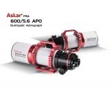 ASKAR FRA600 108mm f/5.6 600mm Quintuplet Flatfield ED-APO für die Astrofotografie