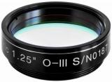 EXPLORE SCIENTIFIC 1,25 O-III Nebelfilter 12nm