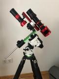 Askar 180mm f/4,5 APO Teleobjektiv auf Star Adventurer Montierung