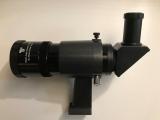 Gebraucht: TS-Optics 8x50 Sucher schwarz mit 90° Einblick und justierbarer Halterung