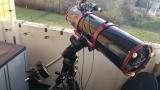 8 200m f/5 Newton auf Celestron AVX Montierung