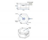 TS-Optics TS290M USB3.0 SW-Astrokamera - CMOS-Sensor mit D=6,46 mm