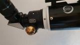Baader 2 BDS-RT Diamond Steeltrack Okularauszug an Skywatcher Evostar ED 120mm montiert