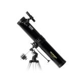 Teleskop Omegon 114/900 Newton auf EQ1 mit Zubehör