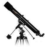 Teleskop Omegon AC 90/1000 Refraktor auf EQ-2 mit Zubehör