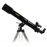 Teleskop Omegon 70/700 Refraktor auf AZ-2 mit Zubehör