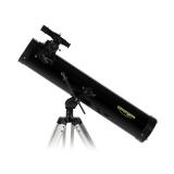 Teleskop Omegon 76/700 Newton auf AZ-1 mit Zubehör
