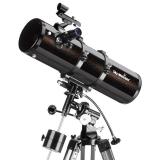 Teleskop Skywatcher Explorer-130P 130mm 650mm 5,1 Parabol-Newton auf EQ2 Montierung