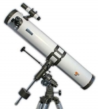Teleskop Starscope 114/900 Newton auf EQ2 Montierung mit Zubehör